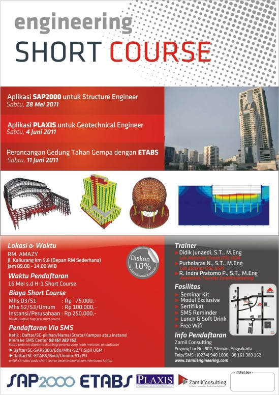 Short Course SAP2000-ETABS-Plaxis
