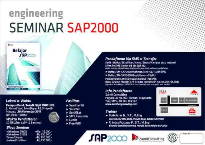 Poster SAP2000 Solo