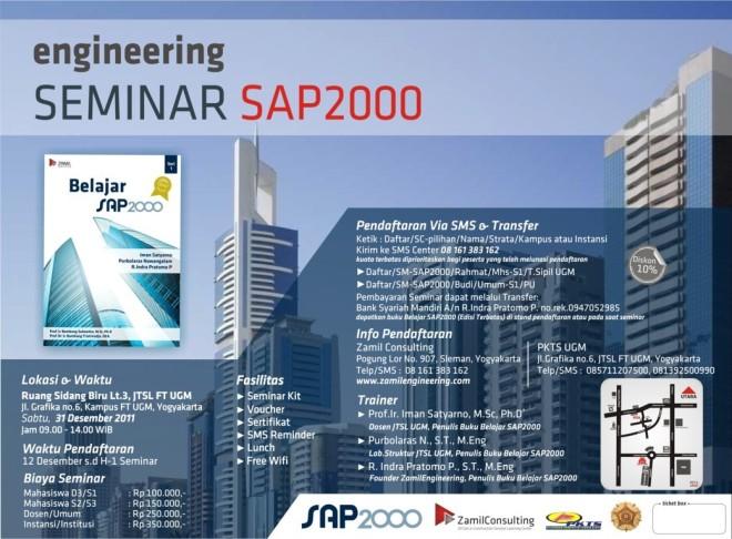 SEMINAR SAP2000 ZAMIL-UGM 31 DES 2011