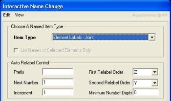 Relabel Control