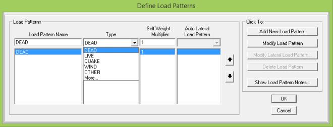 Load Pattern